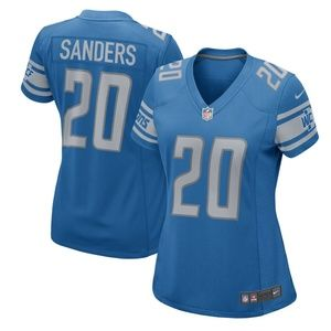 Women's Detroit Lions Barry Sanders Jersey